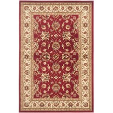 Lyndhurst Red/Ivory Persian Area Rug