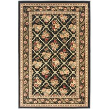 Lyndhurst Black Area Rug