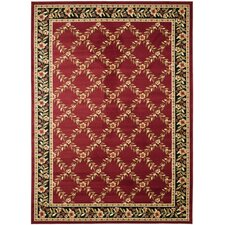 Lyndhurst Red/Black Area Rug