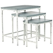 Clark 3 Piece Nesting Table Set