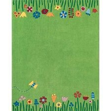 Kids Green Area Rug