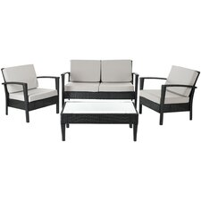 Watson 4 Piece Deep Seating Group with Cushions