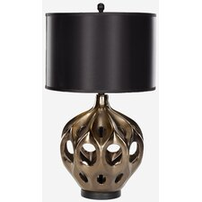 """Ceramic 29"""" H Table Lamp with Drum Shade"""