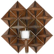 Pillar Wall Sconce in Antique Copper