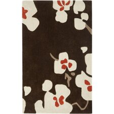 Modern Art Brown/Multi Rug