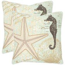 Lauren Cotton Throw Pillow (Set of 2)