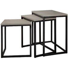 Kaleb 3 Piece Nesting Table Set