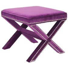 Palmer Ottoman in Purple