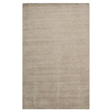 Himalayan Grey Solid Area Rug