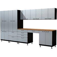 19 Piece Creative Work Space Cabinet Set