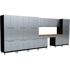 26 Piece Desk S73 Work Center Cabinet Set