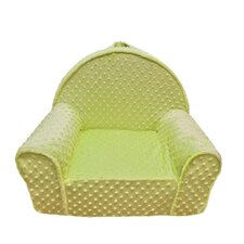 Minky Dot Toddler's My First Chair