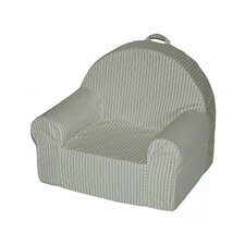 My First Chair in Green Stripe