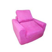 Kid's Micro Suede Chair Sleeper