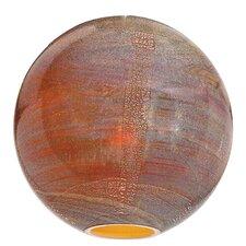 "14"" Safari Glass Sphere Shade"
