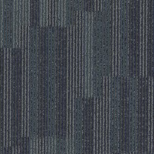 "Aladdin Go Forward 24"" x 24"" Carpet Tile in Blue Stream"