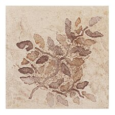 "Slate Quarry Stone 4"" x 4"" Decorative Corner Insert in Sand"