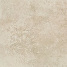 "Mirador 20"" x 20"" Porcelain Field Tile in Ivory Cream"