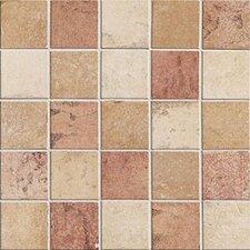 "Quarry Stone 2"" x 2"" Porcelain Mosaic Tile in Light"