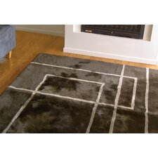Shortwool Design Corners Brown Area Rug