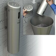Secured Wall Mounted Ashtray Outpost Swivel System