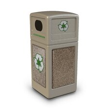 Stonetec Series 42-Gal Industrial Recycling Bin