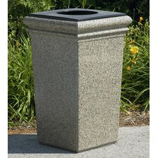 Stonetec Series 30-Gal Waste Container with Lid and Liner