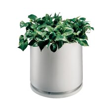 Round Pot Planter with Water Dish