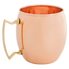 16 Oz. Solid Copper Moscow Mule Mug (Set of 4)