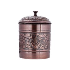 Antique Embossed Heritage 128-Ounce Cookie Jar