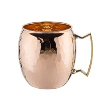 Moscow Mule 16 Oz. Hammered Mug (Set of 4)