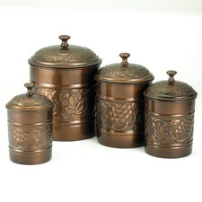 Heritage 4-Piece Canister Set
