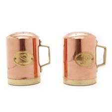Copper Stovetop Salt & Pepper Shaker Set