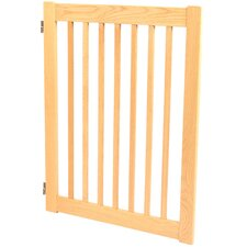 """Amish Handcrafted 32"""" 2-Panel Outdoor Pet Gate"""