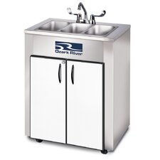 "Elite 26"" x 18"" Triple LS Hand-Wash Sink"