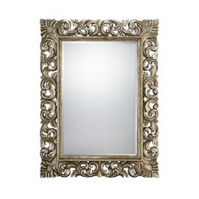 "Laurie 52"" H x 40"" W Beveled Mirror"