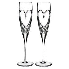 Love True Love Champagne Flute (Set of 2)