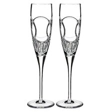 Love Wedding Vows Champagne Flute (Set of 2)