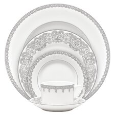Lismore Lace Platinum Dinnerware Collection