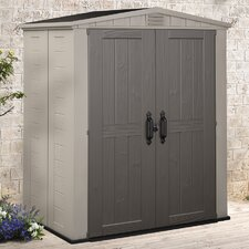 Factor 6 Ft. W x 3 Ft. D Resin Storage Shed