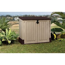 Woodland  Store It Out Midi 4 Ft. W x 2 Ft. D Resin Storage Shed
