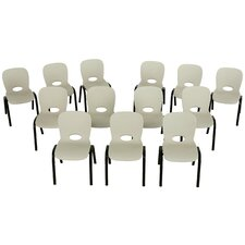 Armless Contemporary Childrens Stacking Chair (Set of 13)