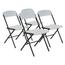 Contemporary Essential Folding Chair (Set of 4)