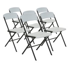 Contemporary Essential Folding Chair (Set of 6)