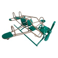 Earthtone Ace Flyer Airplane Teeter-Totter