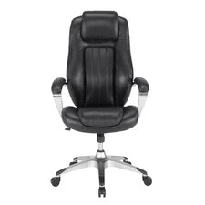 Gruga Solace Pennant High-Back Leather Executive Chair