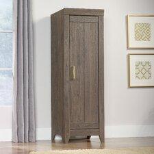 """Adept 22.68"""" Narrow Storage Cabinet in Fossil Oak"""