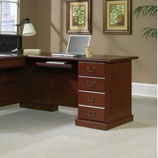 "Heritage Hill  29.68"" H x 47.48"" W Reversible Desk Return"