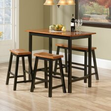 Edge Water 4 Piece Counter Height Pub Table Set