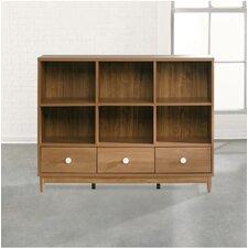 "Soft Modern 43"" Standard Bookcase"